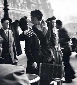 Haiku for Lovers (photo by Robert Doisneau)