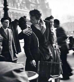 Near Hotel DeVille, Paris by Robert Doisneau