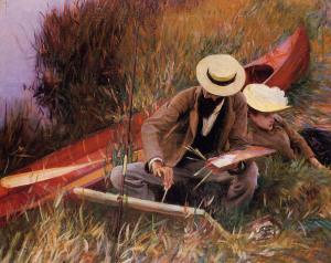 paw challenge poem or paul-helleu-sketching-his-wife-1889