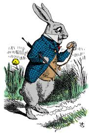 Tenniel White Rabbit
