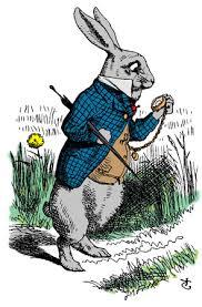 Tenniel White Rabbit