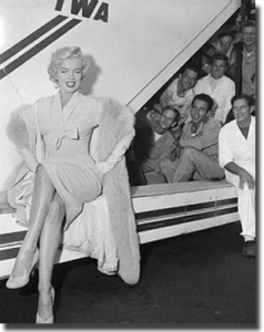 Marilyn and Airline of the Stars